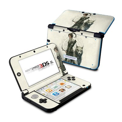 Nintendo 3DS XL Skin - Half Elf Girl