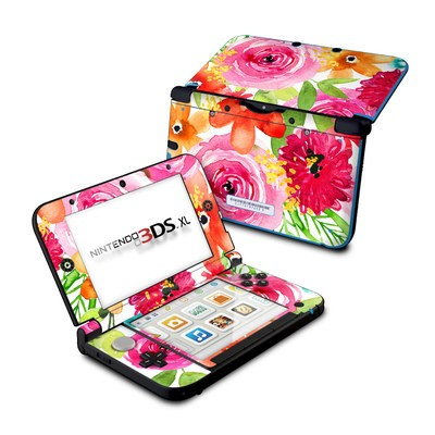 Nintendo 3DS XL Skin - Floral Pop