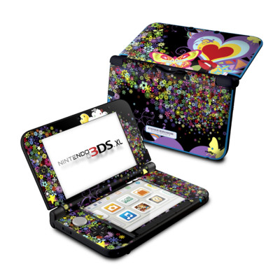 Nintendo 3DS XL Skin - Flower Cloud