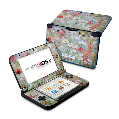 Nintendo 3DS XL Skin - Flower Blooms