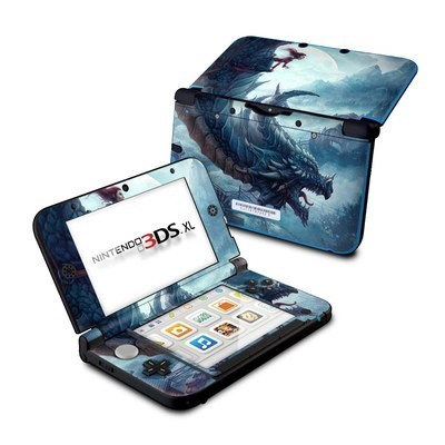 Nintendo 3DS XL Skin - Flying Dragon