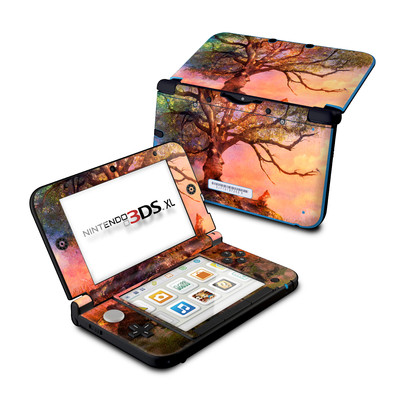 Nintendo 3DS XL Skin - Fox Sunset
