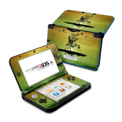 Nintendo 3DS XL Skin - Flying Tree Amber