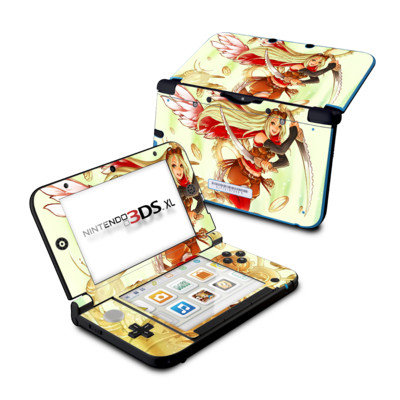 Nintendo 3DS XL Skin - Gear Thief