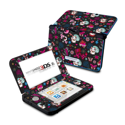 Nintendo 3DS XL Skin - Geisha Kitty
