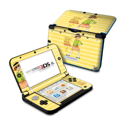 Nintendo 3DS XL Skin - You Go Girl