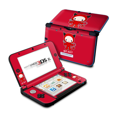Nintendo 3DS XL Skin - Got Evil