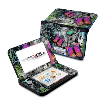 Nintendo 3DS XL Skin - Goth Forest