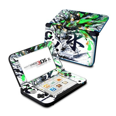 Nintendo 3DS XL Skin - Green 1