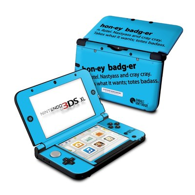 Nintendo 3DS XL Skin - Honey Badger Definition