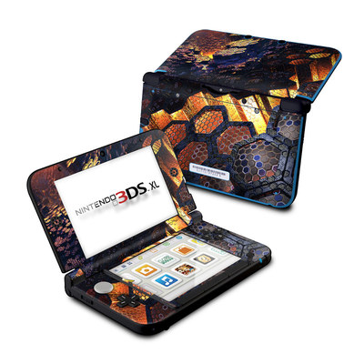 Nintendo 3DS XL Skin - Hivemind