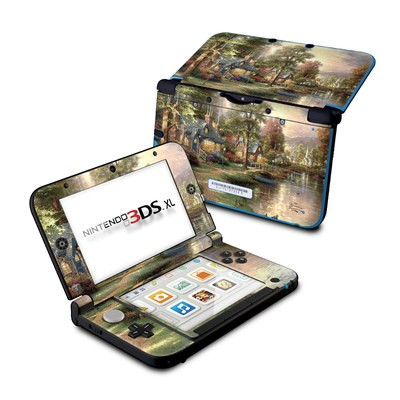 Nintendo 3DS XL Skin - Hometown Lake