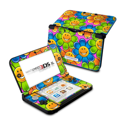 Nintendo 3DS XL Skin - Happy Daisies