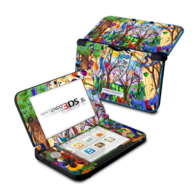 Nintendo 3DS XL Skin - Happy Town Celebration