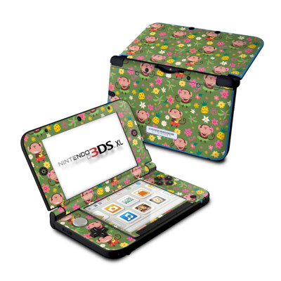 Nintendo 3DS XL Skin - Hula Monkeys