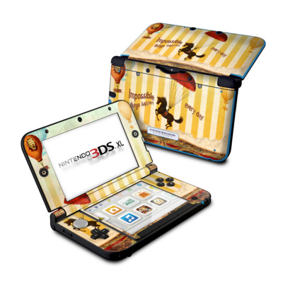 Nintendo 3DS XL Skin - Impossible