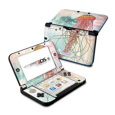 Nintendo 3DS XL Skin - Jellyfish