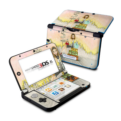 Nintendo 3DS XL Skin - The Jet Setter