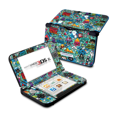 Nintendo 3DS XL Skin - Jewel Thief
