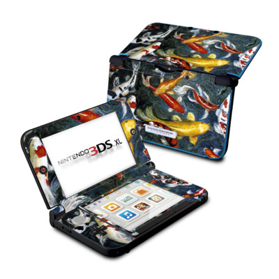 Nintendo 3DS XL Skin - Koi's Happiness