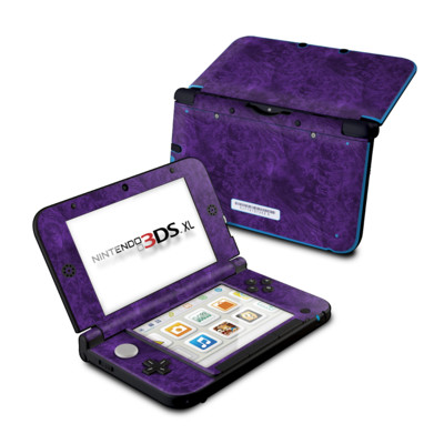 Nintendo 3DS XL Skin - Purple Lacquer