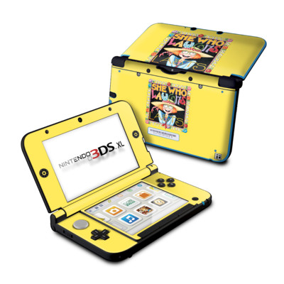 Nintendo 3DS XL Skin - She Who Laughs