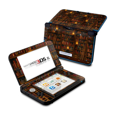 Nintendo 3DS XL Skin - Library