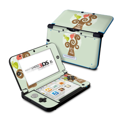 Nintendo 3DS XL Skin - Two Little Birds