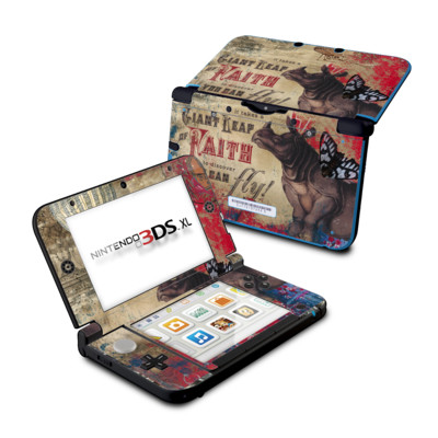 Nintendo 3DS XL Skin - Leap Of Faith