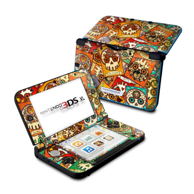 Nintendo 3DS XL Skin - Loteria Scatter