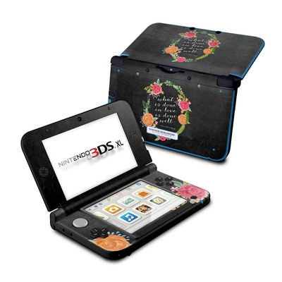Nintendo 3DS XL Skin - Love Done Well