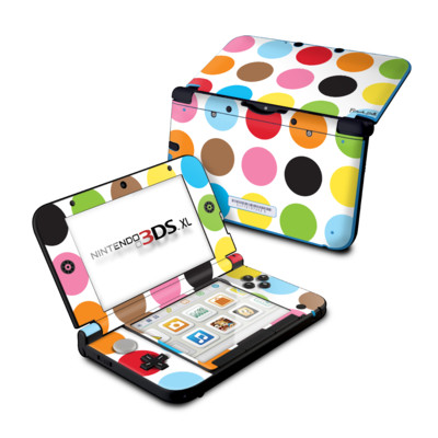 Nintendo 3DS XL Skin - Multidot