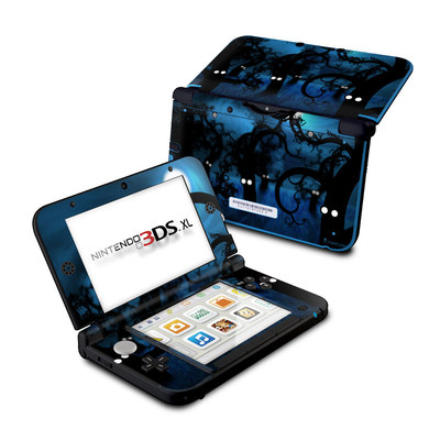 Nintendo 3DS XL Skin - Midnight Forest