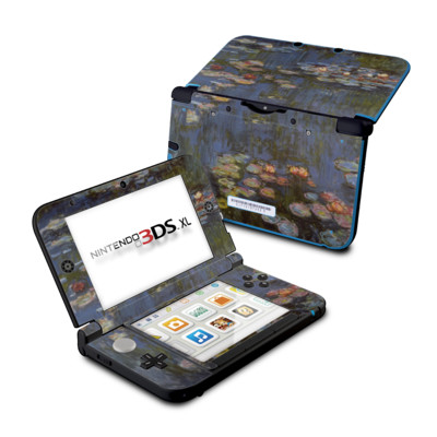Nintendo 3DS XL Skin - Monet - Water lilies