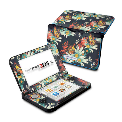 Nintendo 3DS XL Skin - Monarch Grove