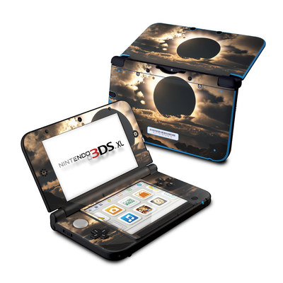 Nintendo 3DS XL Skin - Moon Shadow