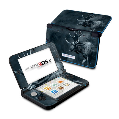 Nintendo 3DS XL Skin - Moose