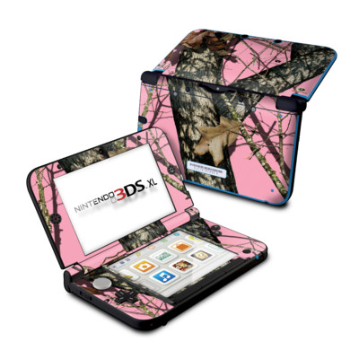 Nintendo 3DS XL Skin - Break-Up Pink