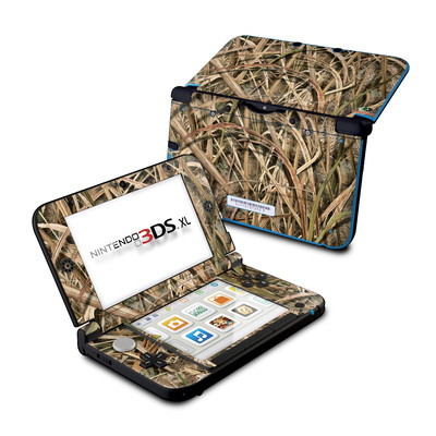 Nintendo 3DS XL Skin - New Shadow Grass