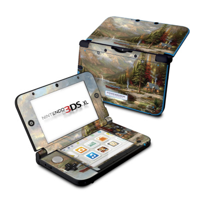 Nintendo 3DS XL Skin - Mountain Majesty