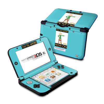 Nintendo 3DS XL Skin - Move On