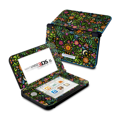 Nintendo 3DS XL Skin - Nature Ditzy