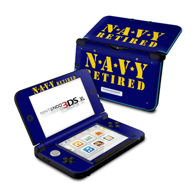 Nintendo 3DS XL Skin - Navy Retired