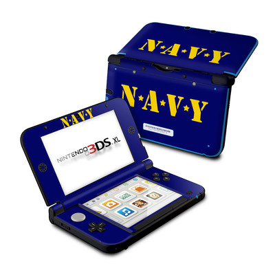 Nintendo 3DS XL Skin - Navy