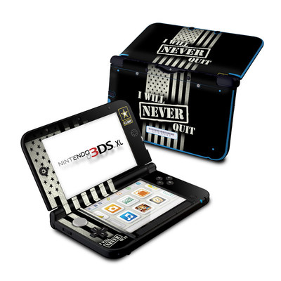 Nintendo 3DS XL Skin - Never Quit