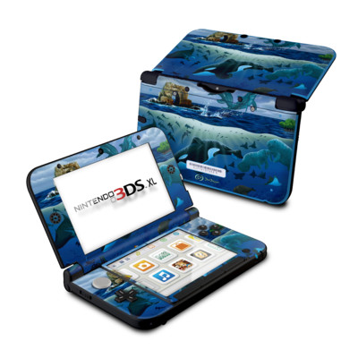 Nintendo 3DS XL Skin - Oceans For Youth