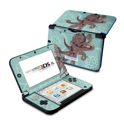 Nintendo 3DS XL Skin - Octopus Bloom