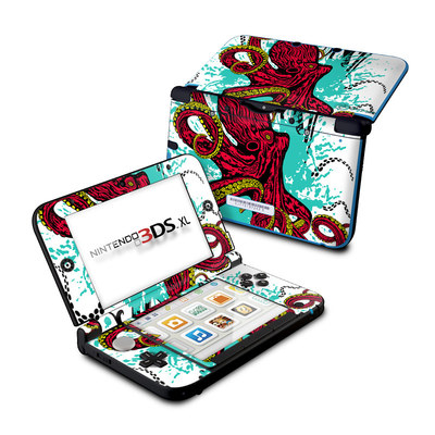 Nintendo 3DS XL Skin - Octopus