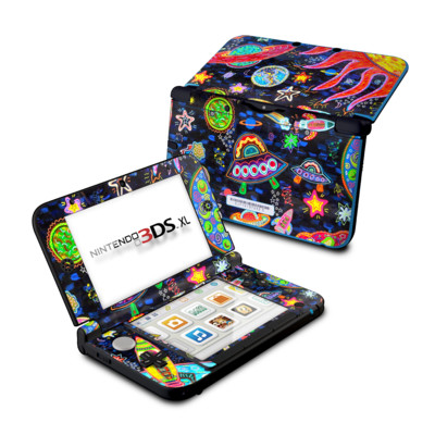 Nintendo 3DS XL Skin - Out to Space