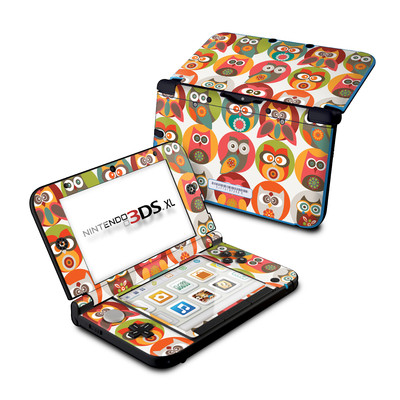 Nintendo 3DS XL Skin - Owls Family